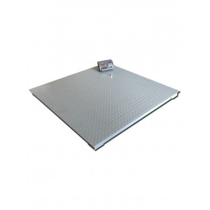 Plateforme de pesage - 1500 x 1500mm + Indicateur