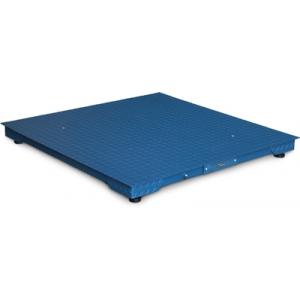 Plateforme de pesage - 1250 x 1250mm avec Indicateur