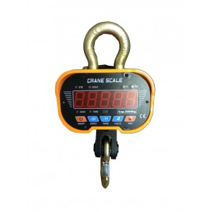 Dynamomètre électronique - Crochet peseur 3 tonnes / 1kilo type CS